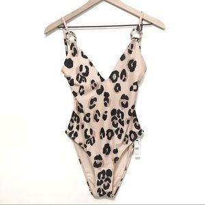 NWT TOPSHOP | Cheetah Print One-Piece Swimsuit